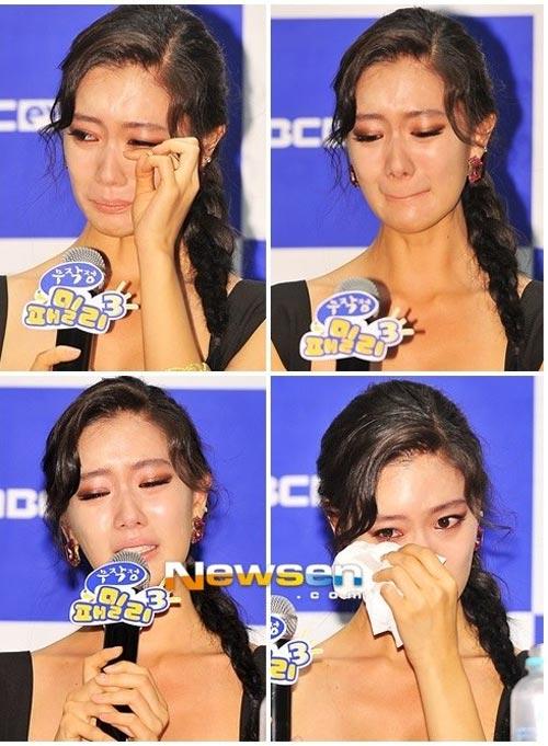 Người đẹp Hàn khóc òa vì bị chê phản cảm - 4