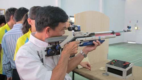 TP HCM: Ra mắt CLB bắn súng thể thao - 1