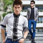 Thời trang - Tôn nét nam tính cùng màu xám và đen