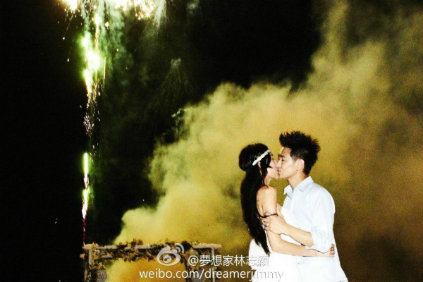 Đám cưới như mơ của Lâm Chí Dĩnh - 8