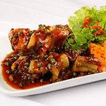 Ẩm thực - Lươn chiên giòn xốt tiêu xanh