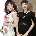 Thời trang - Mỹ nhân Việt bầu bí chẳng ngại váy bó!
