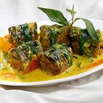 Ẩm thực - Lươn cuốn thịt om riềng