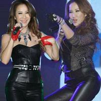 Diva Coco Lee khoe vòng 3 cong tròn