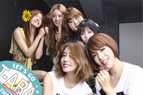 T-ara làm concert tại Hồng Kông - 1