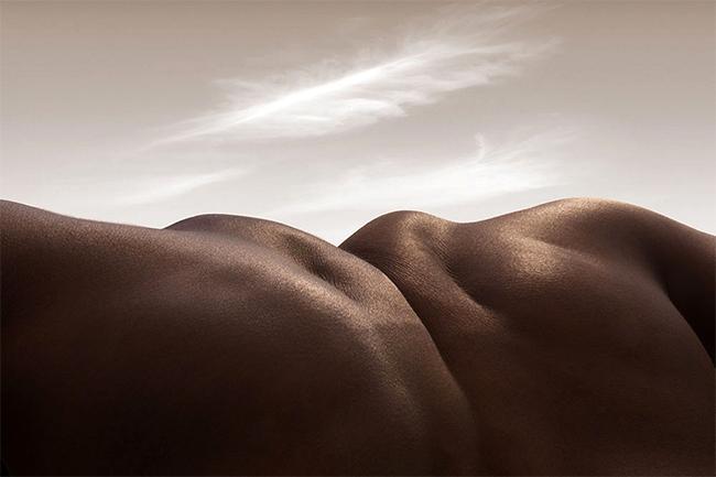 """Được gọi với tên """"bodyscapes"""" – những tác phẩm nghệ thuật này khiến bất kỳ ai xem cũng bị tác động rất mạnh về mặt thị giác"""