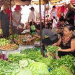 Thị trường - Tiêu dùng - Giá thực phẩm tươi tăng mạnh sau bão