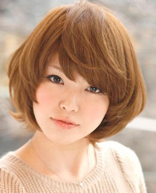 Kiểu tóc ngắn xinh xắn cho nàng mặt bầu - 1