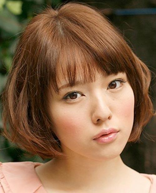 Kiểu tóc ngắn xinh xắn cho nàng mặt bầu - 2