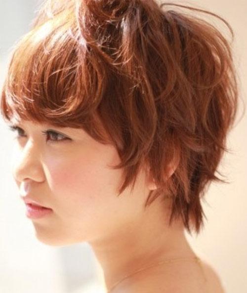 Kiểu tóc ngắn xinh xắn cho nàng mặt bầu - 9
