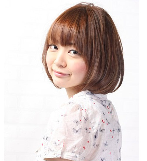Kiểu tóc ngắn xinh xắn cho nàng mặt bầu - 10