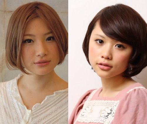 Kiểu tóc ngắn xinh xắn cho nàng mặt bầu - 4