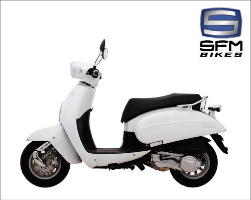 SFM Amici 125 - Chiếc xe làm say lòng phái đẹp - 3