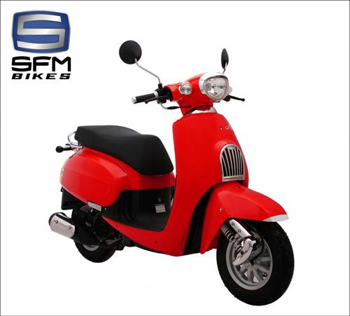 SFM Amici 125 - Chiếc xe làm say lòng phái đẹp - 4