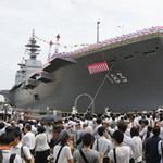 Tin tức trong ngày - Nhật Bản ra mắt siêu tàu sân bay trực thăng
