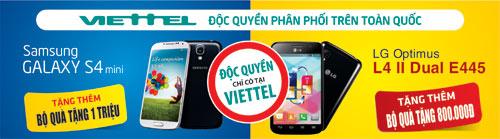 Viettel độc quyền phân phối Samsung Galaxy S4 mini tại VN - 1