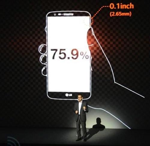 LG G2 công bố: Hàng khủng làng smartphone - 8