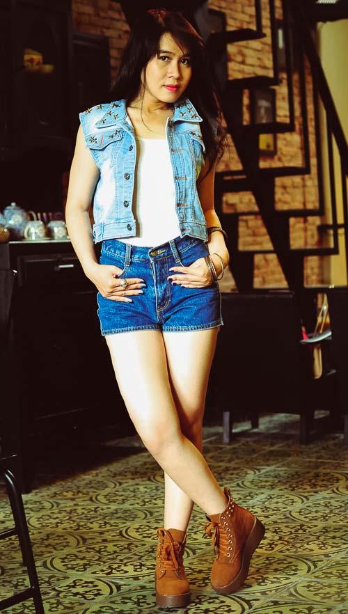 """Bạn trẻ Sài thành """"nghiện"""" mặc đồ jeans - 17"""