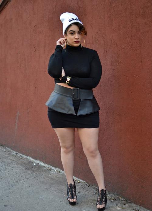 Ngắm mẫu béo có gu ăn mặc quá hấp dẫn - 17