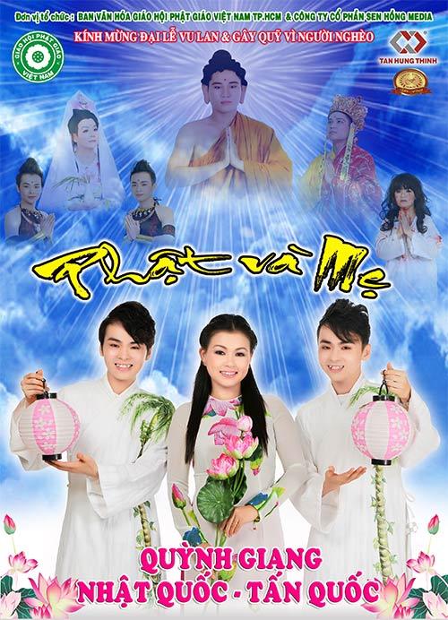 Sao Việt làm show về mẹ mùa Vu Lan, Ca nhạc - MTV, sao viet, mua vu lan, phat va me, nhat quoc, tan quoc, quynh giang, giao linh, kim tu long, ca si, am nhac, ca nhac