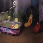 Video Clip Cười - Phim hoạt hình Larva: Hồ cá