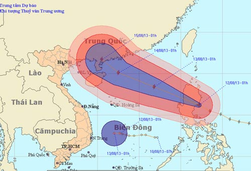 Đầu tuần, biển Đông đón siêu bão Utor - 1