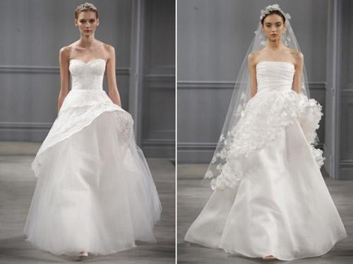 Váy cưới thơ mộng cho mùa xuân 2014 - 12