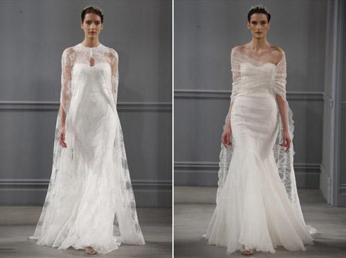 Váy cưới thơ mộng cho mùa xuân 2014 - 2