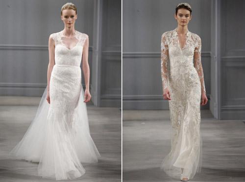 Váy cưới thơ mộng cho mùa xuân 2014 - 3