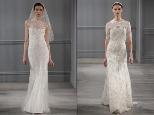 Váy cưới thơ mộng cho mùa xuân 2014 - 4