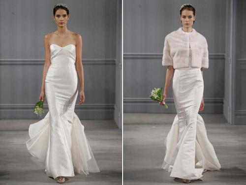 Váy cưới thơ mộng cho mùa xuân 2014 - 5