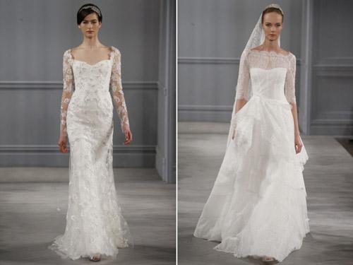 Váy cưới thơ mộng cho mùa xuân 2014 - 6