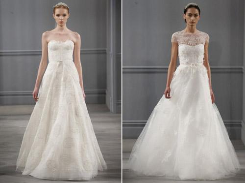 Váy cưới thơ mộng cho mùa xuân 2014 - 7