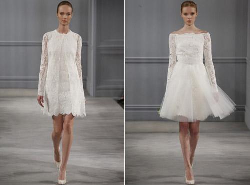Váy cưới thơ mộng cho mùa xuân 2014 - 10