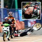 Thể thao - Tai nạn khốc liệt ở giải đua xe Việt Nam