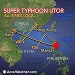 Tin tức trong ngày - Bão Utor quét Philippines: 23 người mất tích