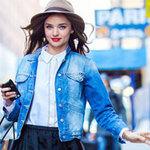 Thời trang - Chọn áo khoác jeans đón gió heo may