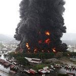 Tin tức trong ngày - Sét đánh cháy nhà máy dầu lớn nhất Venezuela