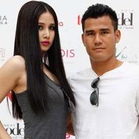 Phan Thanh Bình đưa vợ đi thi siêu mẫu