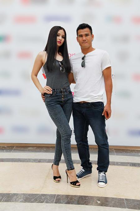 Phan Thanh Bình đưa vợ đi thi siêu mẫu - 6
