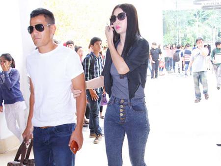 Phan Thanh Bình đưa vợ đi thi siêu mẫu - 1