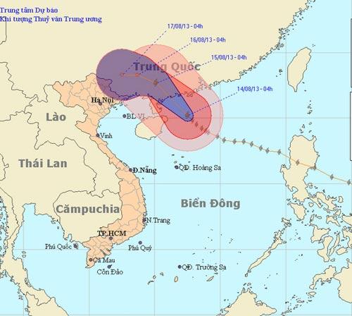 Bão Utor sẽ vào Trung Quốc, Bắc Bộ nắng nóng - 1