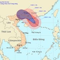 Bão Utor sẽ vào Trung Quốc, Bắc Bộ nắng nóng