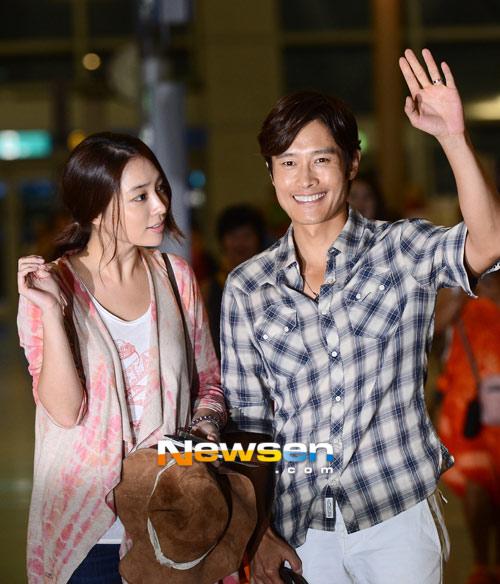 Lee Young Ae trong veo làm đại sứ - 9