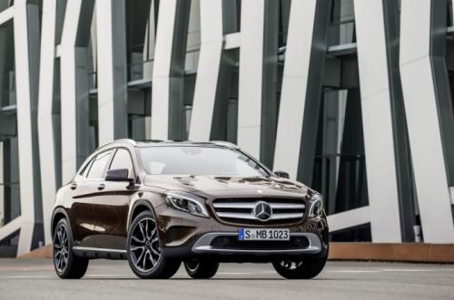 Mercedes-Benz GLA 2014: 'Hoàng tử' SUV cỡ nhỏ - 1