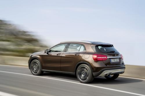 Mercedes-Benz GLA 2014: 'Hoàng tử' SUV cỡ nhỏ - 2
