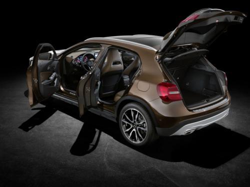 Mercedes-Benz GLA 2014: 'Hoàng tử' SUV cỡ nhỏ - 13