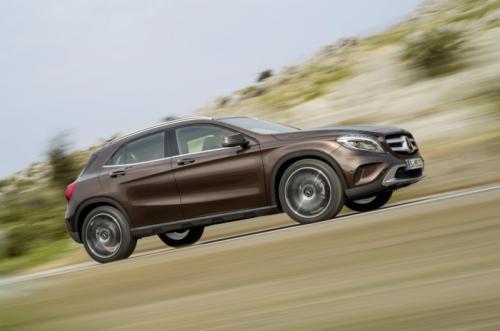 Mercedes-Benz GLA 2014: 'Hoàng tử' SUV cỡ nhỏ - 3