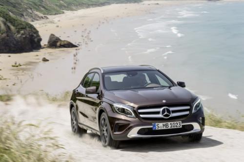 Mercedes-Benz GLA 2014: 'Hoàng tử' SUV cỡ nhỏ - 4