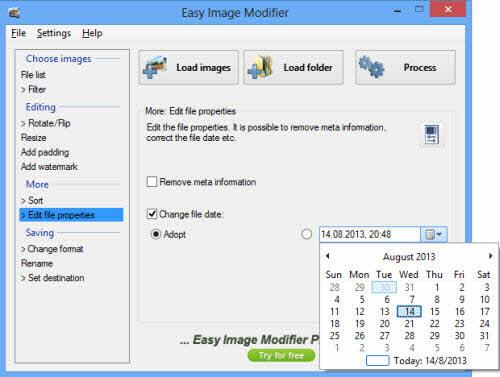 Easy Image Modifier: Xử lý ảnh đồng loạt - 3